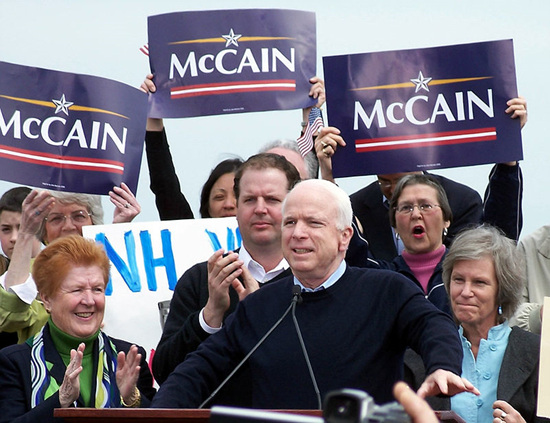 McCain formally announces his candidacy for president in Portsmouth, New Hampshire, 2007.jpg