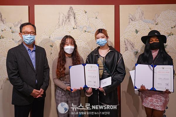 [뉴욕한국문화원] 1등(Sara Oh&Joey Chai 듀오), 3등(Aisha Alexander).jpg